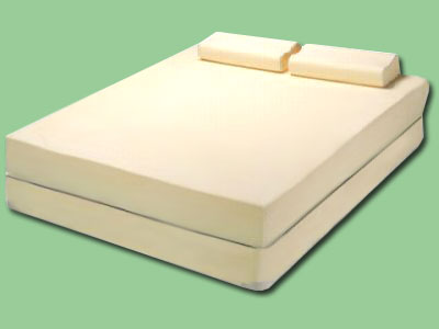 Visco Mattress With Contour Pillows